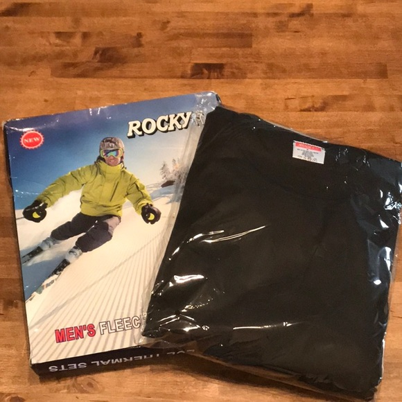 Rocky Other - NEW Men's Rocky Fleece Thermals Medium Black
